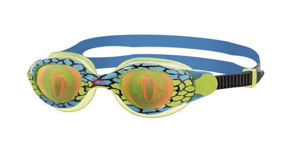 Zoggs Sea Demon Junior - Lunettes de natation Enfant - vert/bleu